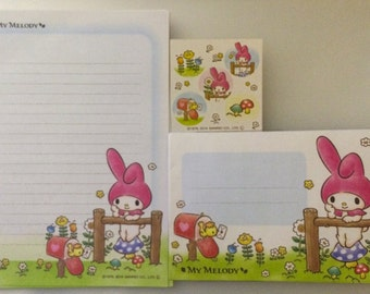 My Melody Letter Set - Japanese Kawaii Stationery