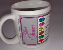 Trivial Pursuit Silver Screen Vintage Mug Cup 1983 Horn Abbot 80s Coffee Tea Board Game Collectible