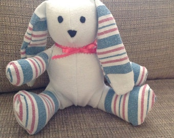 Receiving Blanket Bunny Plush