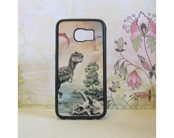 Dinosaurs - Rubber Samsung Galaxy S3 S4 S5 S6 Case