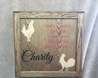 Charity - Wall Decor