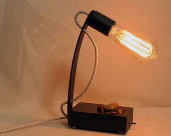 edison small edison lamp dad gift desk lamp table lamp edison