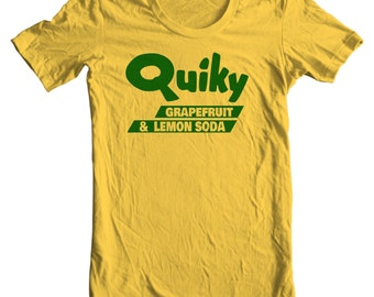 Quiky Grapefruit and Lemon Soda Vintage Bottle Cap T-shirt