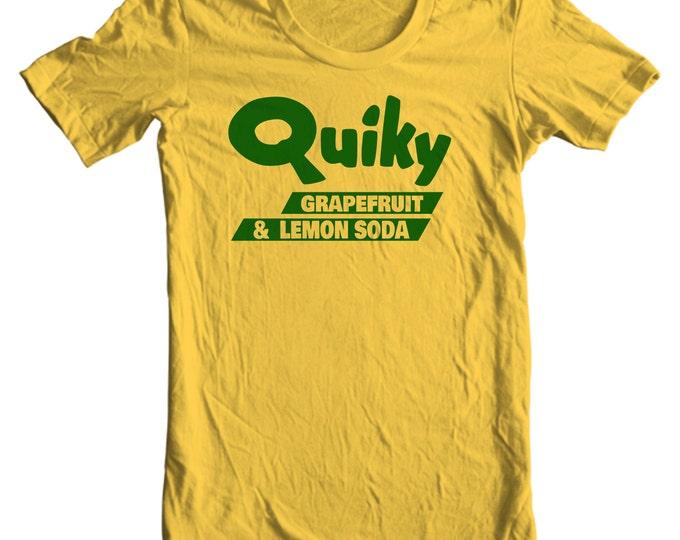 Quiky Grapefruit and Lemon Soda Vintage Bottle Cap T-shirt