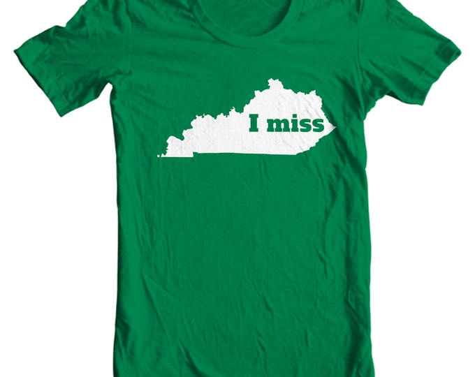 Kentucky T-shirt - I Miss Kentucky - My State Kentucky T-shirt