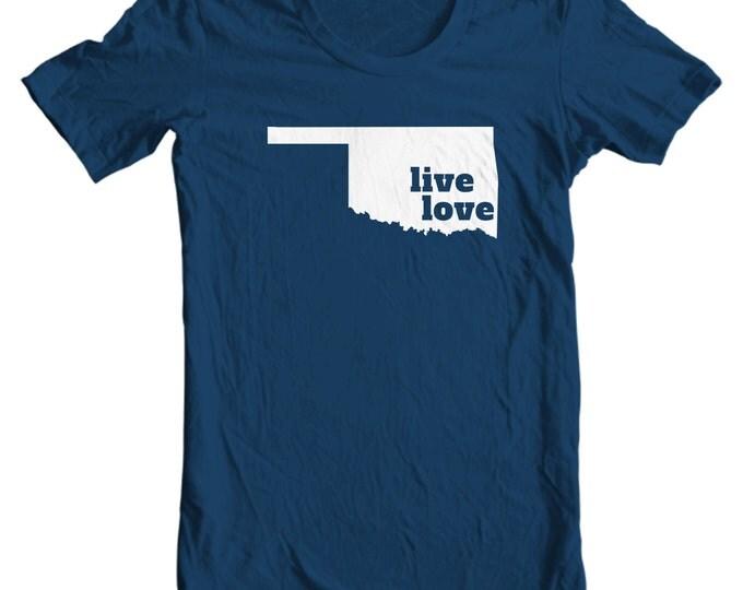 Oklahoma T-shirt - Live Love Oklahoma - My State Oklahoma T-shirt