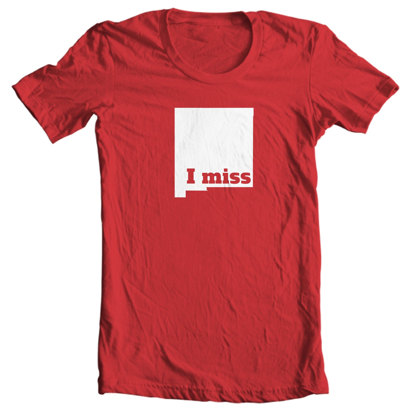 New Mexico T-shirt - I Miss New Mexico - My State New Mexico T-shirt