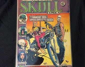 Skull #2 - vintage underground comix