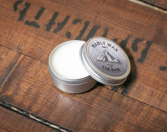 "MANLY WAX for hair ""white"" 100 ml"