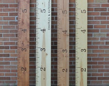Growth Chart - Growth Ruler - Wood Growth Chart - Giant Ruler - Kid Nursery Decor