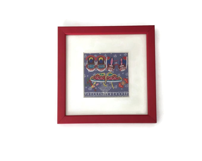 Feng Shui Art Chinese Su Embroidery, Embroidery Art, Framed Embroidery Art