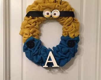 Minion wreath
