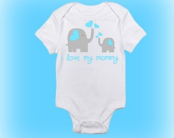 Baby Elephant Onesie® - Baby Shower Gift - Unique Baby Shower Gift - Baby Boy Clothes - Baby Girl Clothes - Gift for New Mommy - Baby Gift