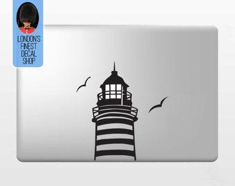 Lighthouse - Macbook Vinyl Decal Sticker / Laptop Decal / iPad Sticker