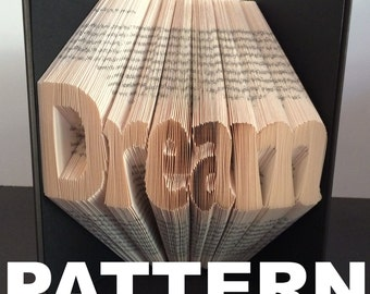 Book Folding Pattern - Dream + Free Instructions