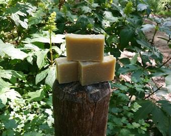 Hemp and Neem oil soap with Tea Tree oil