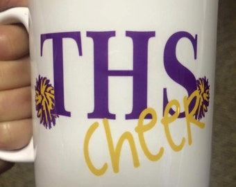 Personalized Cheer Mug