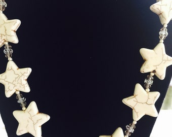 Sterling a Silver Star Necklace