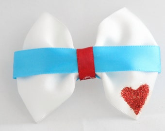 Alice in Wonderland Inspired Bow
