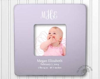 Baby GIft Personalized Gift Child's Gift New Baby Gift Preppy Gifts Birthday Gift Monogram Frame IBFSBABY