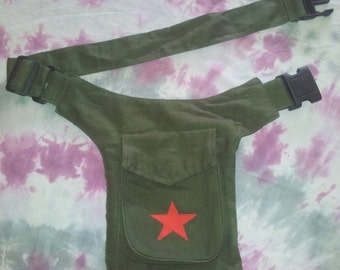 Fanny Pack Red Star