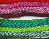 10-100meters (33-330ft) Fabric Covered Wire 2x0.75 Textile cable  Cloth covered wire  Cloth cord  Color cord  Electrical cord Lighting cable