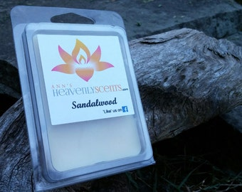 Sandalwood  Scented Wax Melt/ Tarts/ Hand Poured