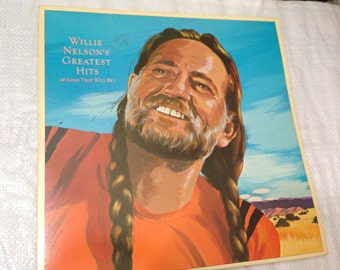 WILLIE NELSON's Greatest Hits (& some that will be). Double LP. 1981 Columbia