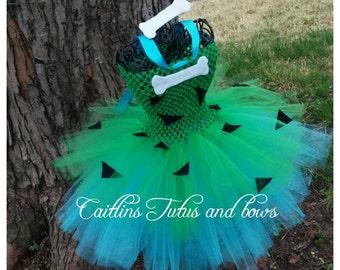 Pebbles tutu dress, pebbles costume, pebbles tutu, stone age tutu dress, pebbles halloween costume, stone age tutu, pebbles tutu costume