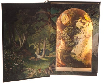 LED Hollow Book Safe - Grimm's Complete Fairy Tales (Magnetic Closure) [Custom Order]