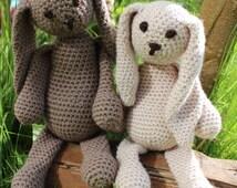 Crochet Rabbit. Handmade Crochet Animals. Amigurumi Animals. Made to order.