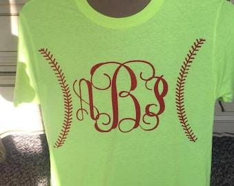 Monogram Baseball Shirt