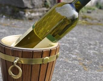 Italian wooden Ice Bucket