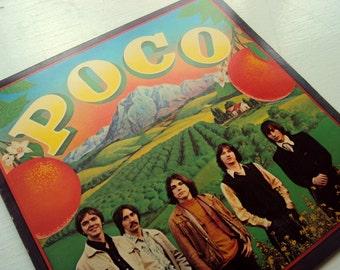 Poco Self titled 1970 Vintage Vinyl Record