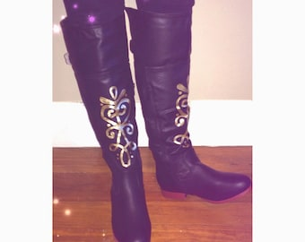 Adult Anna Frozen Boots || Made to Order
