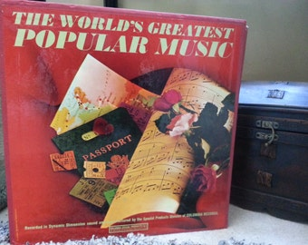 VINTAGE 1963— The World's Greatest Popular Music—Columbia Records—10 LP Vinyl Record Set