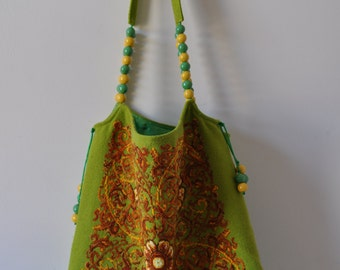 Stylish Embroidered Bag - Hand Crafted