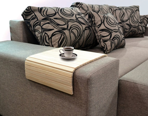 Sofa Tray Table Tv Tray Wooden Coffee Table Color Pine