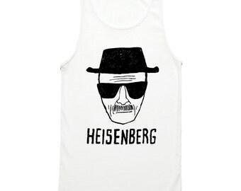Heisenberg Tank Top - Breaking Bad Heisenberg Sketch Tank Top Shirt - Breaking Bad Walter White Tank Top - Walter White Breaking Bad Shirt
