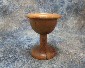 Turned Wood Goblet | Elm Goblet | Medieval Goblet | Decorative Goblet | Wooden Goblet