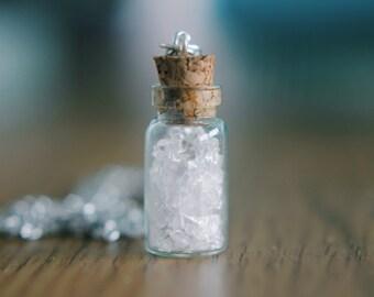 Broken Glass Necklace