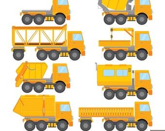 Trucks Digital Clipart