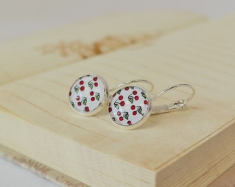 Le Temps de Cerises earrings