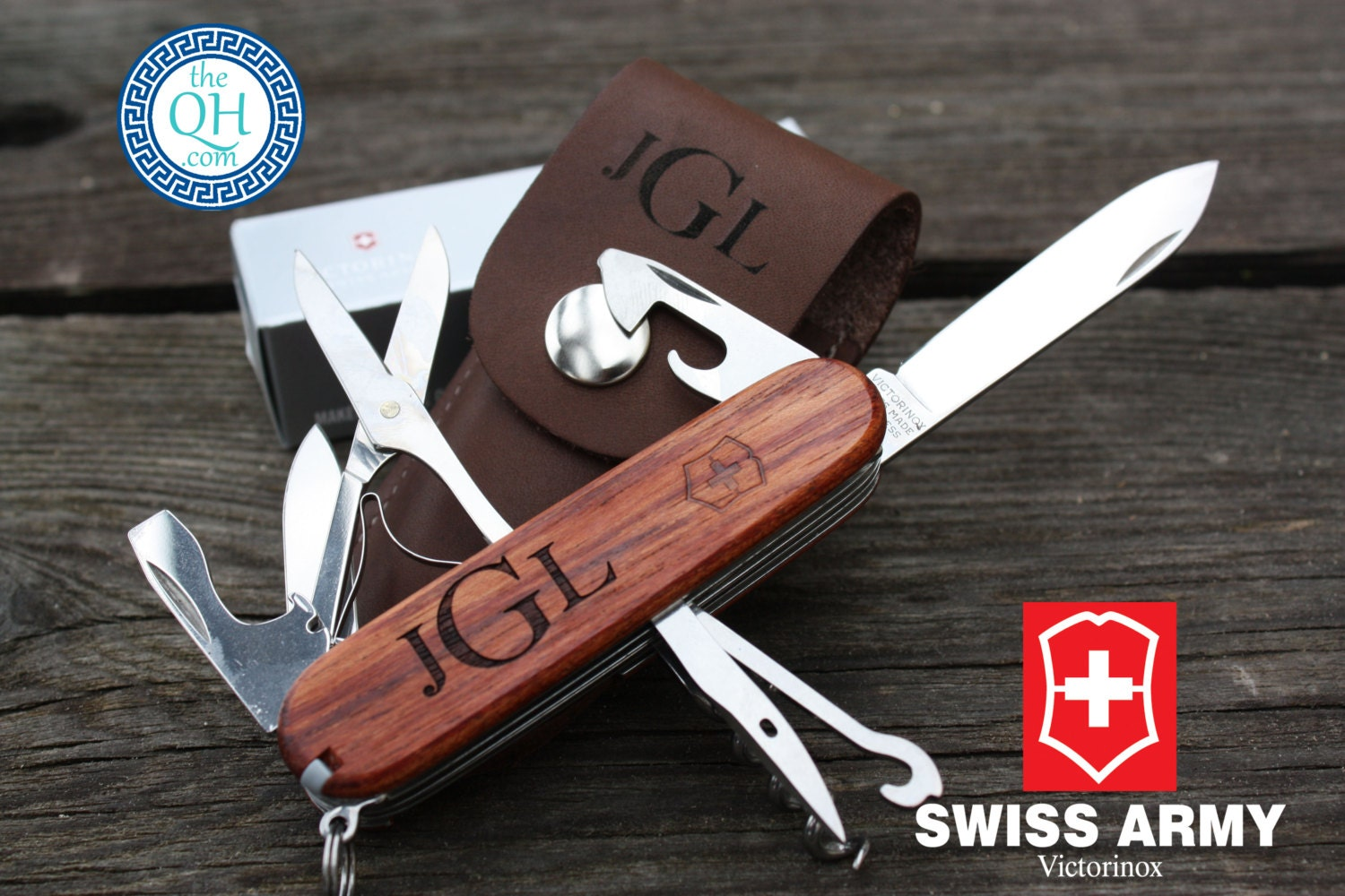 Authentic Swiss Army Knife Personalized Pocket Knife With