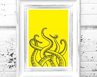 Tentacles Print