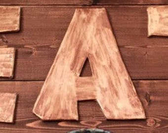 Pottery Letters