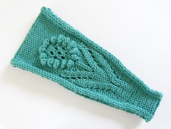 Knitting Pattern Adjustment Calculator : Knitting Pattern PDF Daisy Daisy Headband (Digital Download) from Knittiana o...