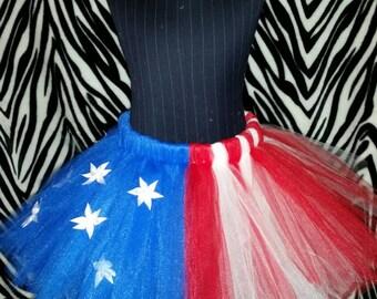 American Flag tutu skirt
