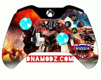 Custom [Optimus Prime G1] Transformers themed Xboxone Controller