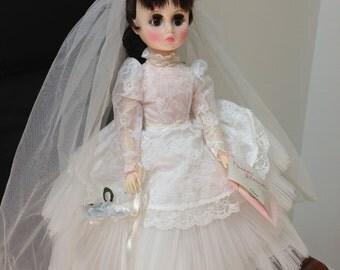 Vintage Madame Alexander Bride Doll - Elise